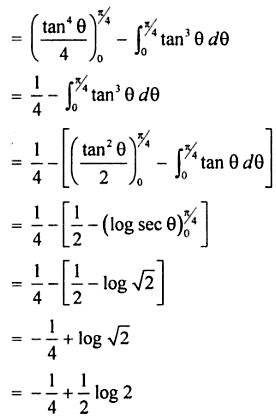 21 Integrate 0 to pi by 4 tan to the power 5