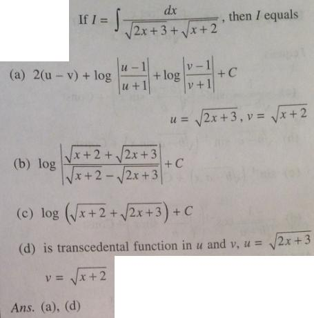 227 Integration root linear plus root linear in denominator