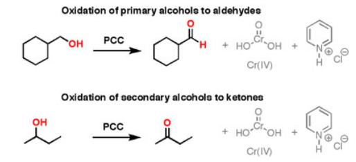 23 Oxidation of primary alcohols to aldehyde