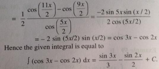 230 Cos 8x minus Cos 7 x so multiply by Cos 15 x