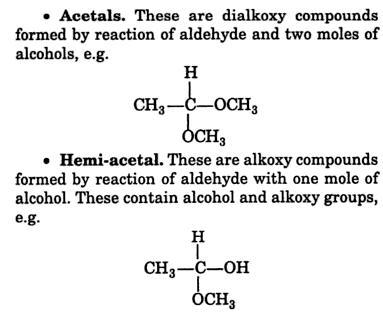 28g Acetals and Hemi acetals