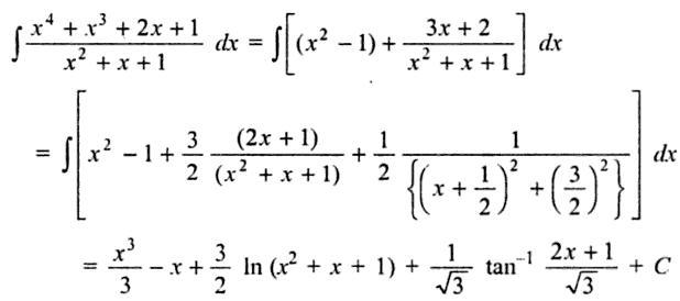 31a Quartic by Quadratic Integration