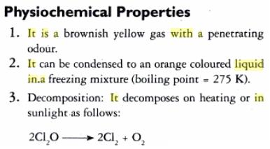 31b Oxides of Chlorine