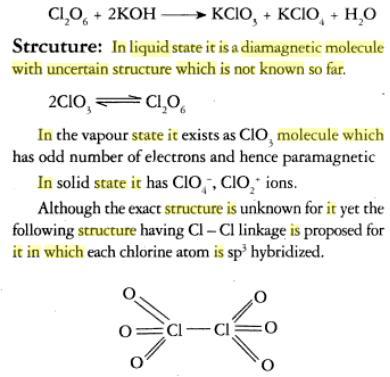 31i Oxides of Chlorine