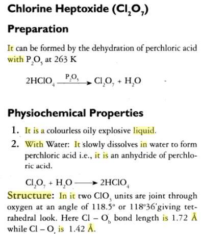 31j Oxides of Chlorine