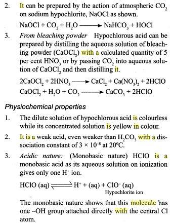 31o Oxides of Chlorine