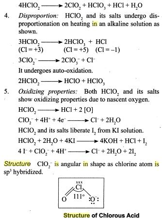 31s Oxides of Chlorine
