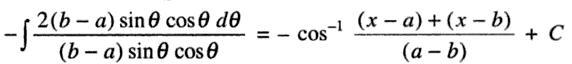 36b Integration root of a minus x into x minus b
