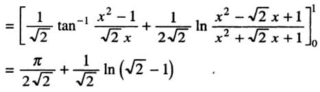 37b Definite integral 0 to pi by 4 root tan x