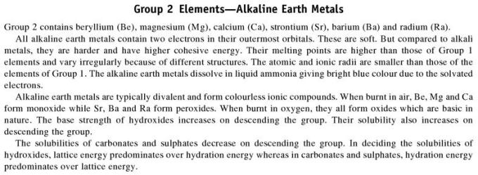 3b Group 2 Elements