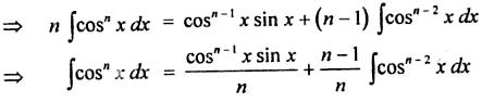4 reduction formula for Cos to the power n