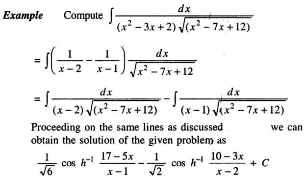 40a Integration of Quadratic into root Quadratic