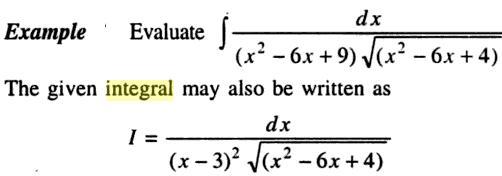 41a Integration of Quadratic into root Quadratic