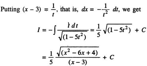 41b Integration of Quadratic into root Quadratic