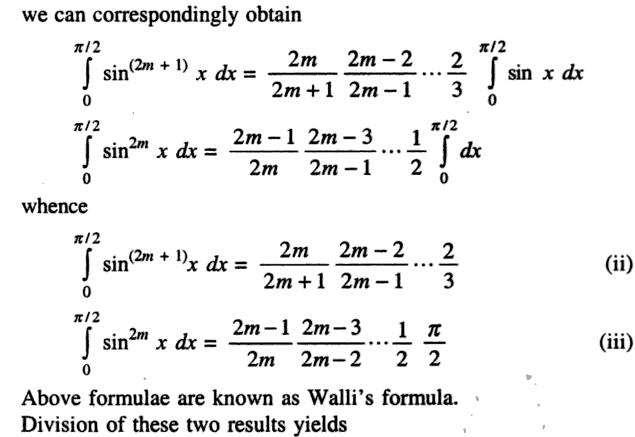 44c Recursive Formula of Sin to the power n Integration