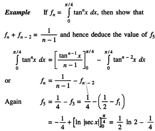 46a Recursive formula for Integration of Tan to the power n