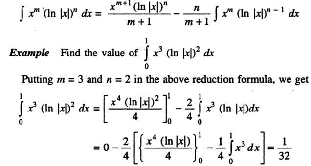 47a Definite Integral 0 to 1 x cube ln x wholesquare