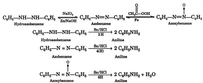 5 hydroazobenzene azoxybenzene 2