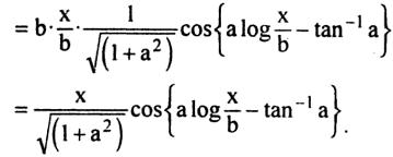53b Integration of Cos of a log x by b