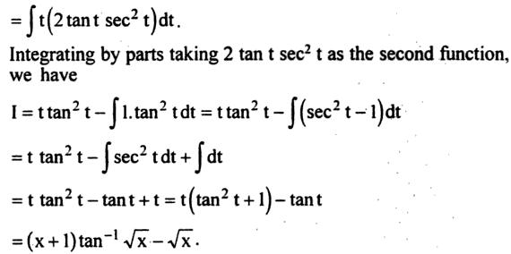 56b Integration of tan inverse root x
