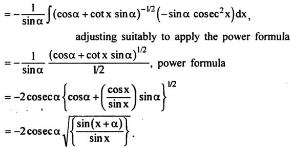 60b Integration of Sin cube x into Sin x cos alpha plus cos x sin alpha root
