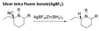 65 reduction by silver tetra fluoro borate AgBF4
