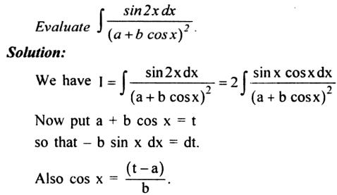 65a Integration of Sin 2x by a plus b cos x whole square