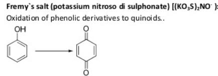73 Oxidation by Fremy's salt phenolic derivatives to quinoids