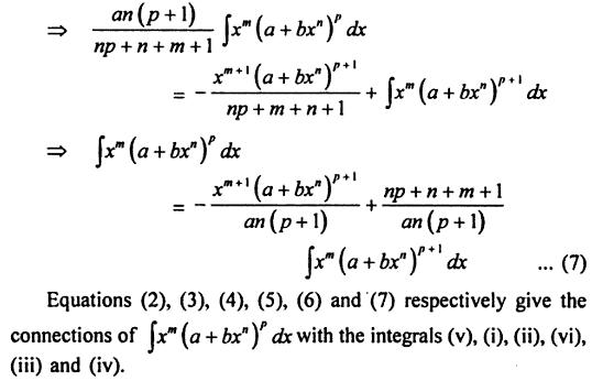 76 Integrate x to the power m ( a + b x ^n ) whole power p