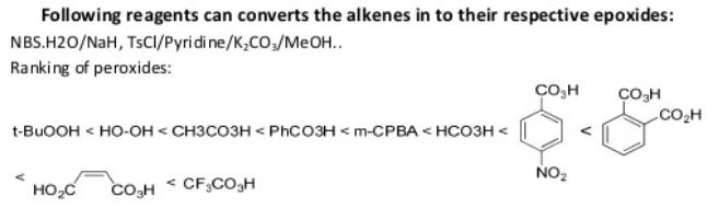 77 Oxidation of alkenes