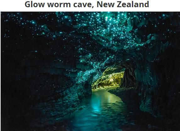Glow warm cave