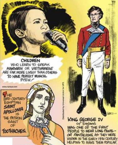 King George 4 made pant popular
