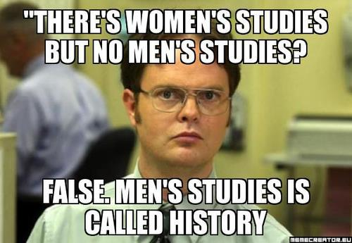 Women men studies
