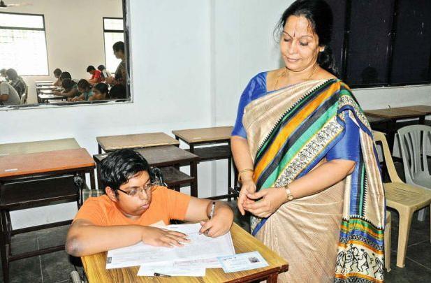 intelligent challenged boy advanced IIT JEE