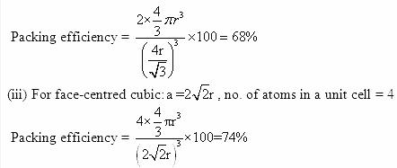 1.10b QA Solid State CBSE std 12 Solutions