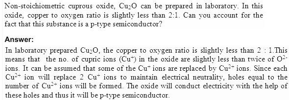 1.18b QA Solid State CBSE std 12 Solutions