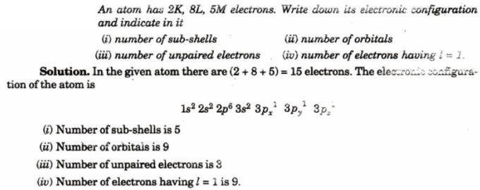 1 2K 8L 5M electrons