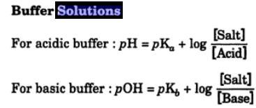 1 Buffer Solutions