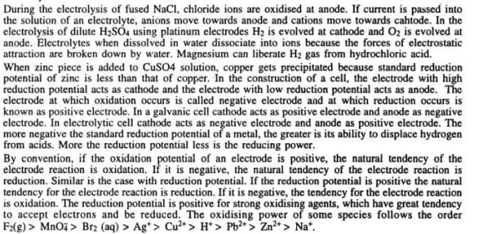 1 Electrochemistry gyan