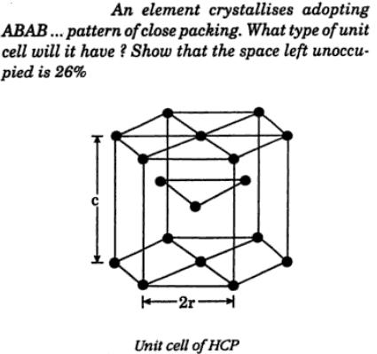 1 element crystallizes adopting ABAB pattern