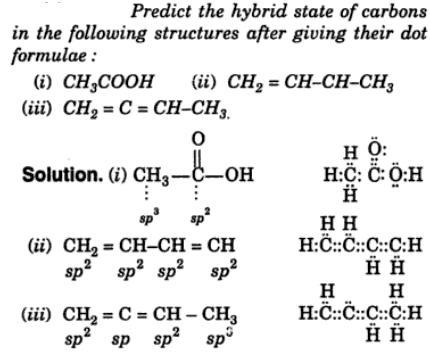 1 hybrid states of carbon