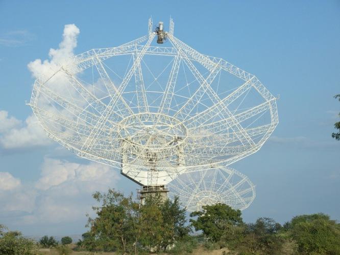 1 IUCAA Radio telescope