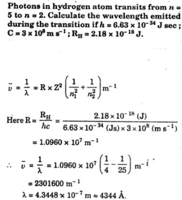 1 lambda calculation with Rydberg constant