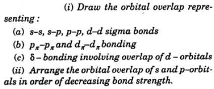 1 orbital overlap diagram s-s s-p p-p d-d