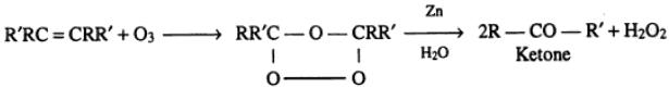 1 Ozonolysis of double bond