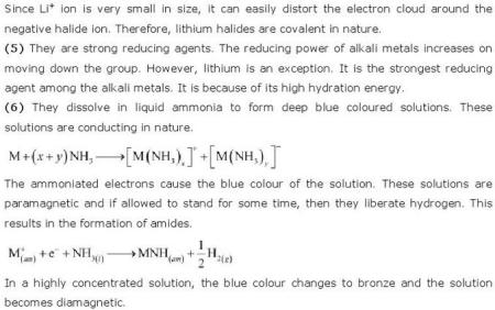 10.1c CBSE std 11 s block solutions
