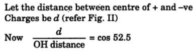 10 hybrid state of O in H2O