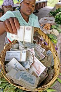 10 Zimbabwe Money collector