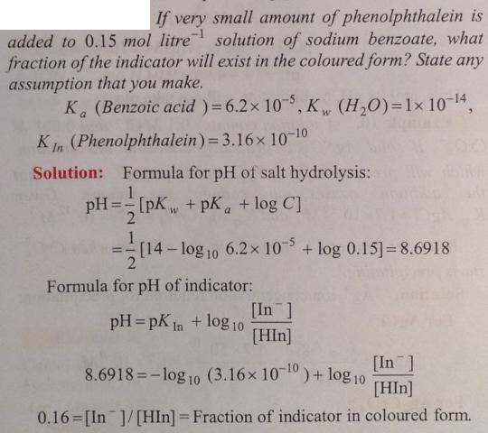 100 Ionic equilibrium dissociation constant