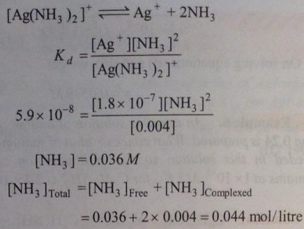 102 Ionic equilibrium dissociation constant